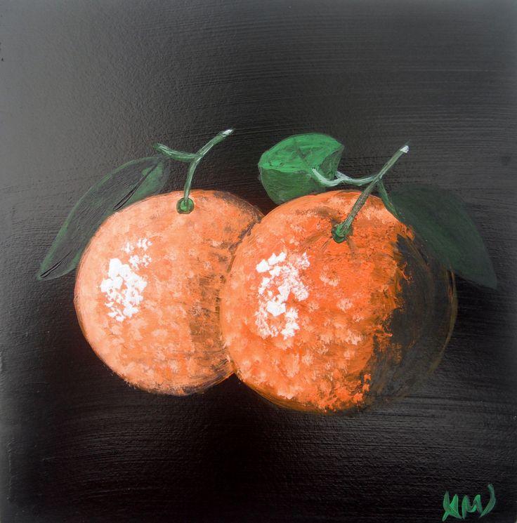 Oranges. Paintings on wood by Art Online