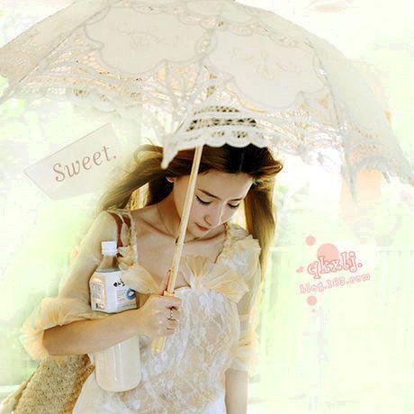 Choke небольшой перец белый, потому дворец вентилятор принцесса зонтик зонтик зонтик свадебный кружевной зонтик зонтик зонтик зонтик - Таоба ...