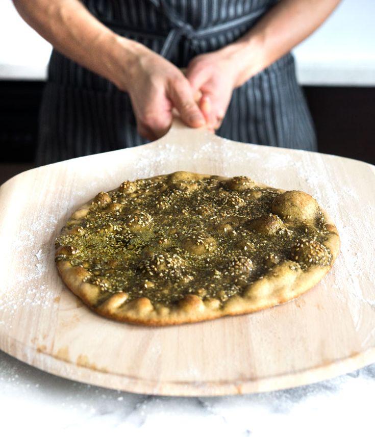 Hummus   Za'atar Flatbread