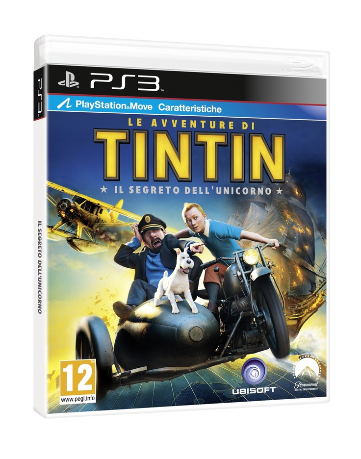 Le Avventure di Tin Tin - PS3 PostePay Fun