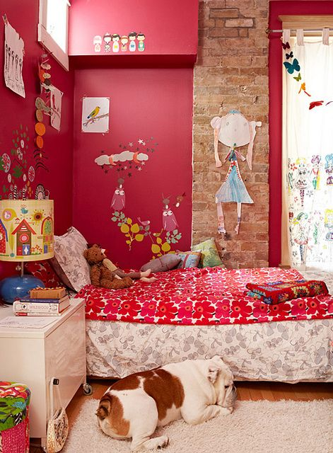 Be sure to see our hip red baby room. Get more decorating ideas at http://www.CreativeBabyBedding.com