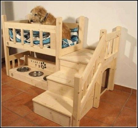 Image result for dog bed made from tv cabinet