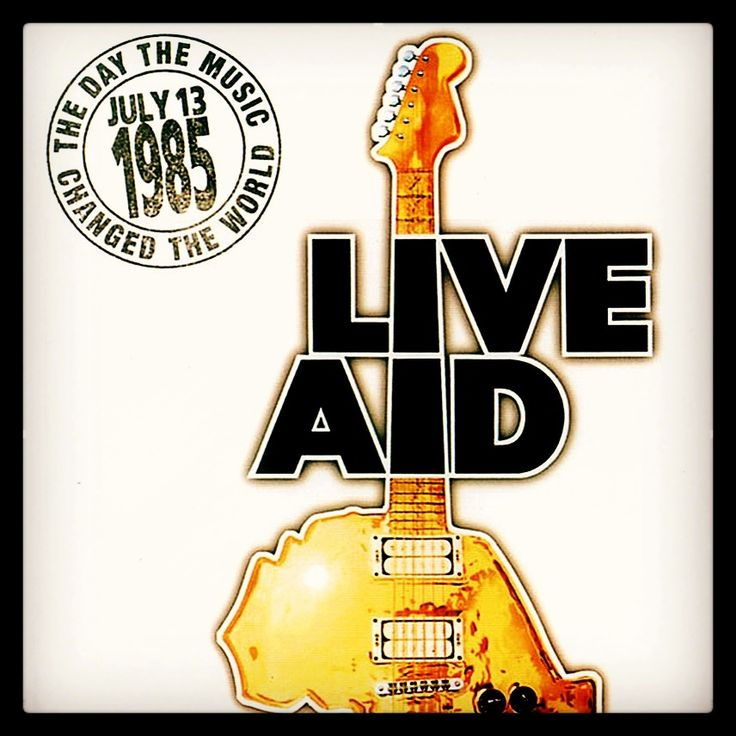 32 Years Ago Today, one of the most historic concert events in #music history #tbt 1985 #liveaid 🎸 #wembleystadium #jfkstadium #global #benefit #summer #bobgeldof #london #philadelphia #history #childhood #onceinalifetimeexperience #mtv #reunion #changetheworld #faminerelief #u2 #freddiemercury #queen #ledzeppelin #news #bands #stage #inspirational #memories #iconic #savelives #love