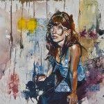 Andrew Young produce arte a partir de las situaciones que protagoniza la juventud contemporánea. Haciendo honor a su apellido, es un pintor de la juventud.