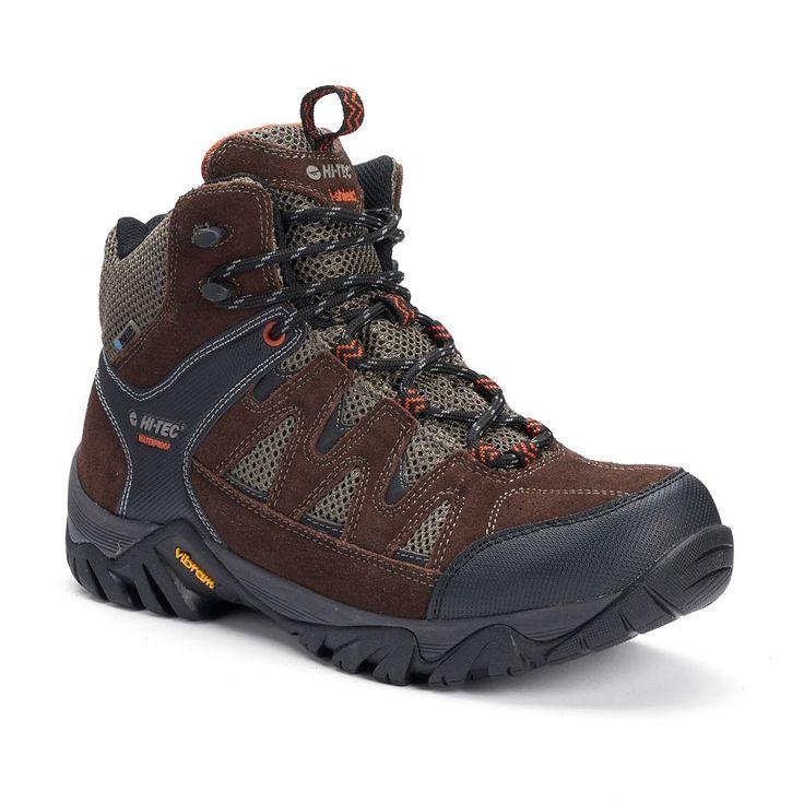 Hi-Tec Sonorous Mid Men's Waterproof Hiking Boots, Size: medium (7.5), Brown