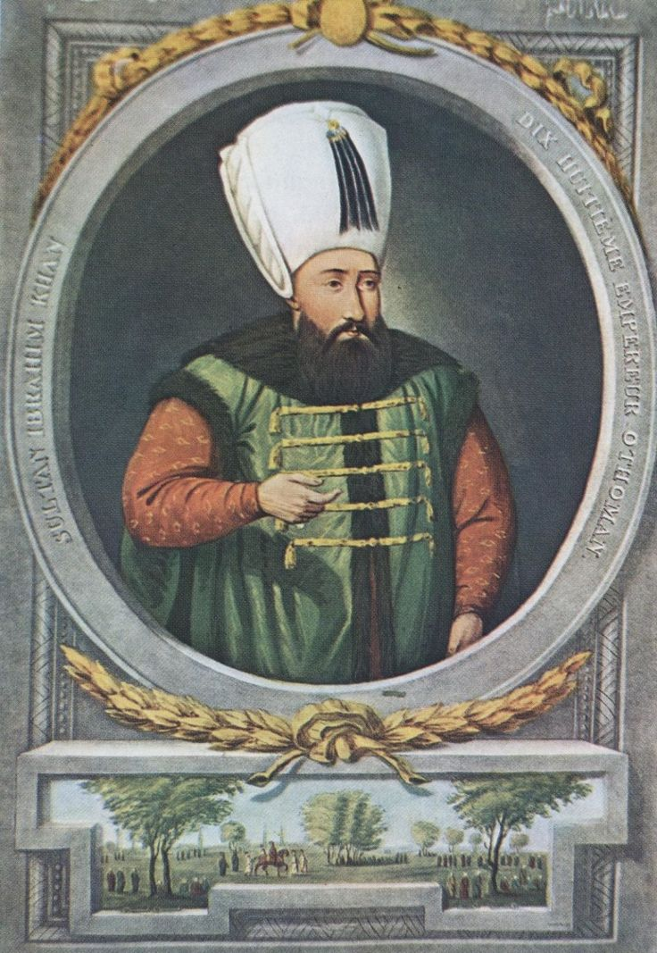 Ibrahim I, sultão do Império Otomano, afogou as suas 280 concubinas depois de uma delas ter dormido com outro homem.