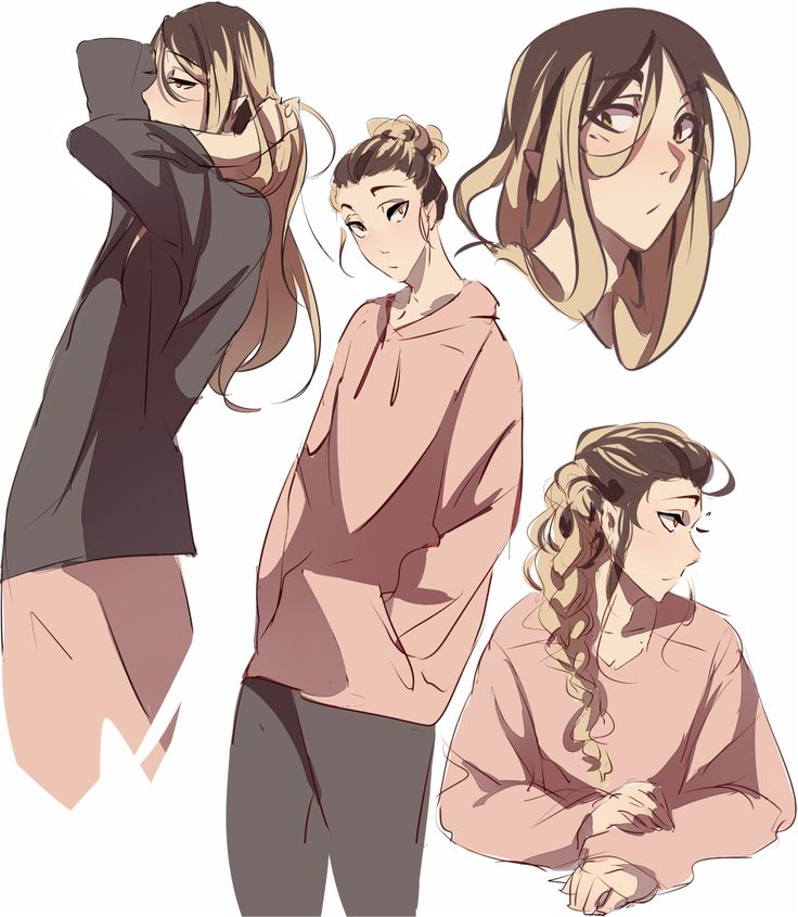ok but what if kenma grew his hair out? kenma with ridiculously long hair