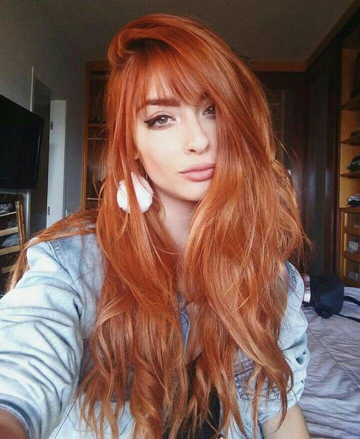 Redhead, love the colour!