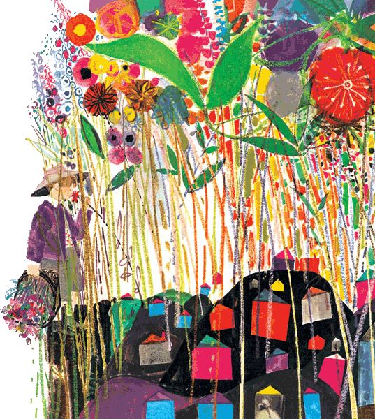 """Brian Wildsmith. A great love when I studied for my illustration degree. Making mess, painting, cutting and sticking is what I enjoyed in my degree. My Dad used to say """"21 and still at play school"""""""