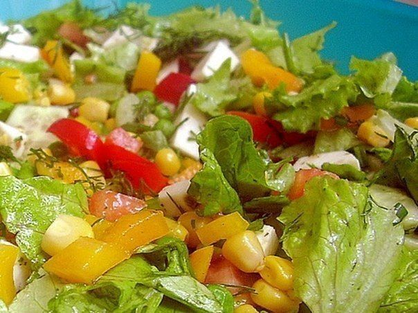 Salad «Colorful»