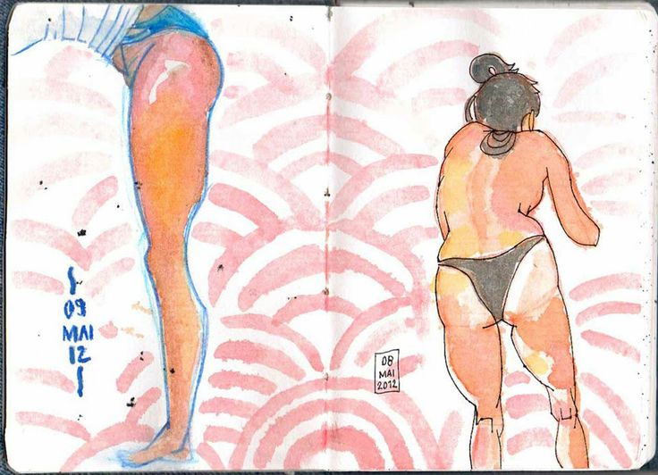 © Eldes.com - SKETCHBOOK   10 - #sketchbook #watercolor.
