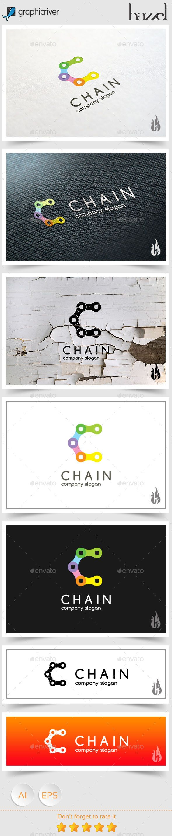 Chain Letter C - Logo Design Template Vector #logotype Download it here: http://graphicriver.net/item/chain-letter-c-logo/9088413?s_rank=570?ref=nesto
