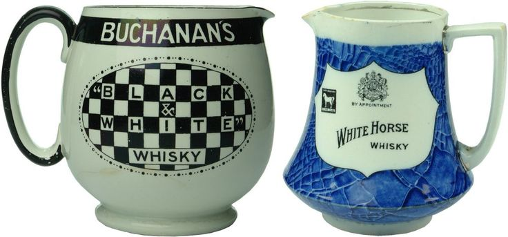 Auction 27 Preview | 892 | Buchanan's and White Horse Advertising Water Whisky Jugs