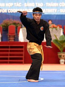 Silat is also a great way to stay fit.
