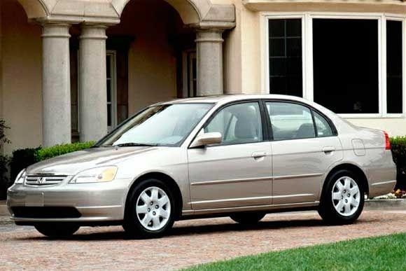 Ficha técnica completa do Honda Civic EX 1.7 AT 2002
