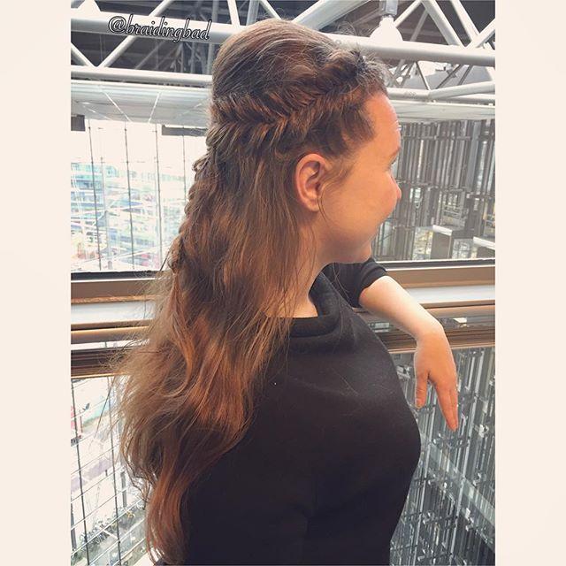 #dutchfishtail crown on the beautiful long hair of @paulatopelius 👑 ~~ #hollantilainenkalanruotoletti #kruunukampaus 💕 . . #fishtailbraid #kalanruotoletti #braidinghair #braidideas #instabraids #letti #lettikampaus #letitys #hairdo #hairstyles #peinados #plaitedhair #suomiletit #braidsforgirls #hotbraidsmara #braidingintheoffice #braidsforever #beyondtheponytail #featureaccount_ #braidinginspiration #inspirationalbraids #see_your_braids