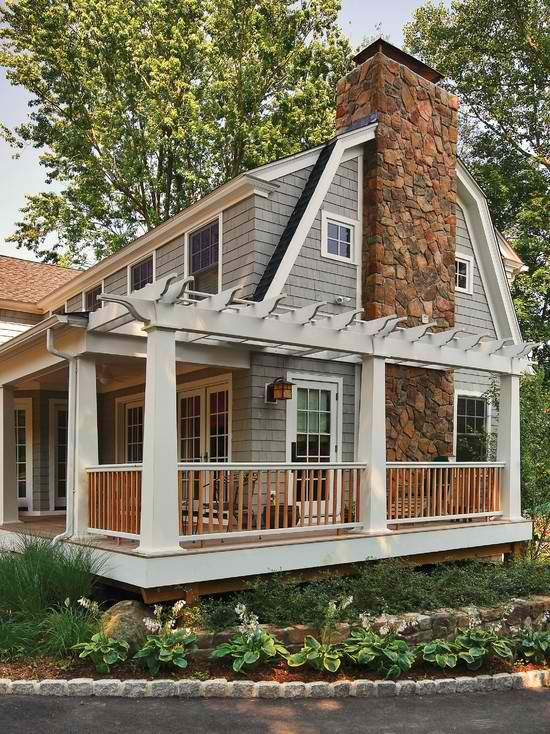 112 best images about dutch colonial exteriors on for Dutch colonial garage plans