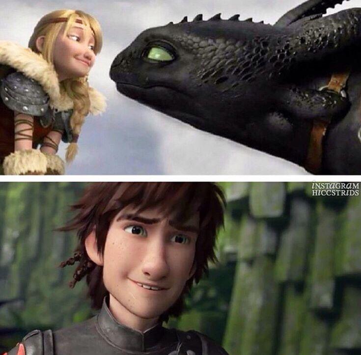 Картинки про как приручить дракона приколы