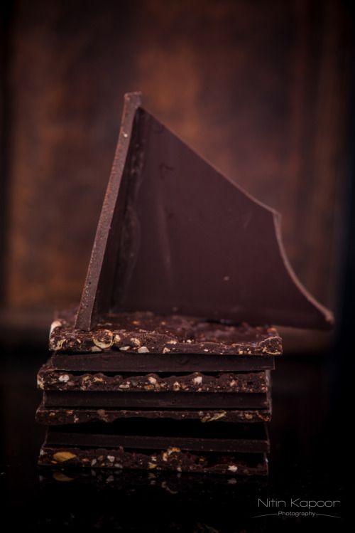 Chocolate and Hazelnut Shards