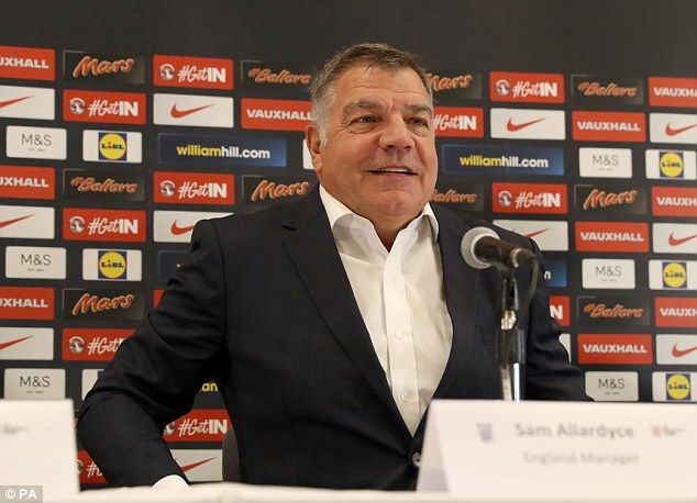 The former Sunderland manager was speaking for the first time as the new manager of the Three Lions