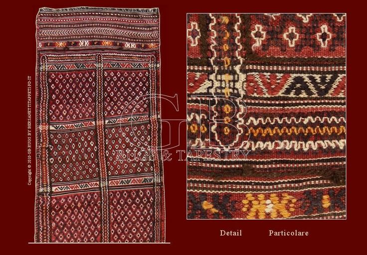 CAUCASIAN VERNEH RUG , ANTIQUE AND OLD KILIMS_141016236947  cm 310 x 66  This rug of old manufacture has been realized with the technique of the detach kilim, in which the design is made exclusively using colored threads of the woof