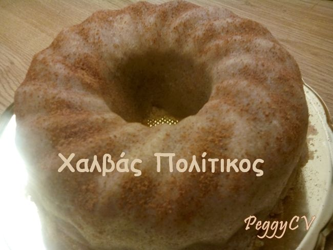 "Peggy's ""Chalvas"": Traditional, easy to prepare and delicious greek desert!"