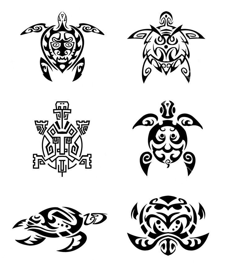 Tortuga conjunto tatuaje