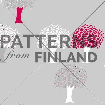 Unipuu by Sari Taipale   #patternsfromfinland #saritaipale #pattern #surfacedesign #finnishdesign