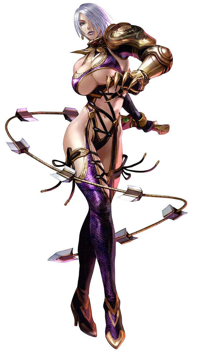 Ivy Valantine is a character from Soul Calibur. Why anyone would wear such an…