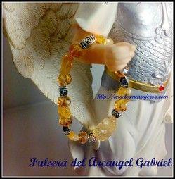 Angel bracelet. pulsera del Arcangel gabriel-Cristal del Arcangel Gabriel-pulsera del angel Gabriel, arcangel Gabriel, pulsera en cuarzos-amuleto del arcangel-amuleto del angel-proteccion del arcangel gabriel-pulseras de arcangeles