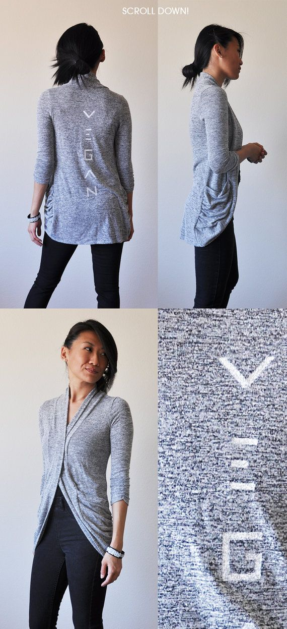 Vegan Clothing B & W Mesh Shawl Sizes S / M / L by lamotif01