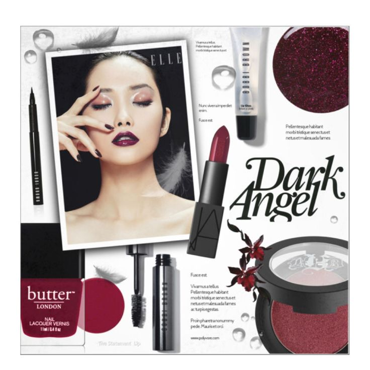 Dark Angel Makeup by alexandrazeres