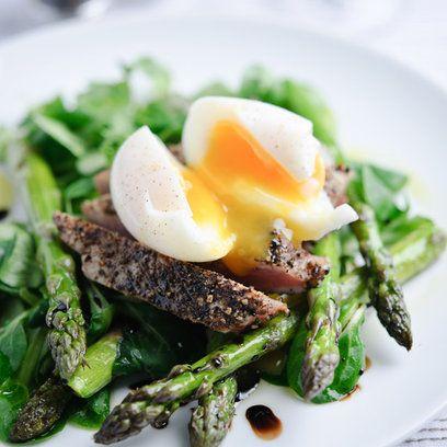 Asparagus & tuna Nicoise salad