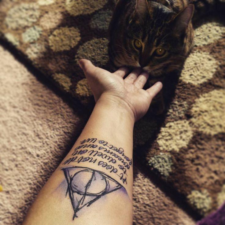 Deathly hallows tattoo 11