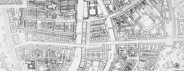 Mapy i plany, Gdańsk - 1940 rok, stare zdjęcia