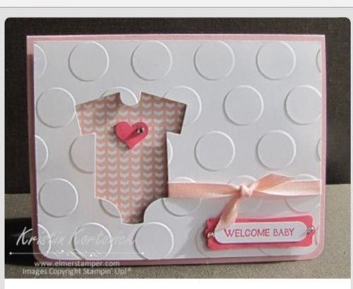 164 best stampin up baby cards images on pinterest baby cards new stampin up babys first framelit dies onesie filmwisefo Choice Image