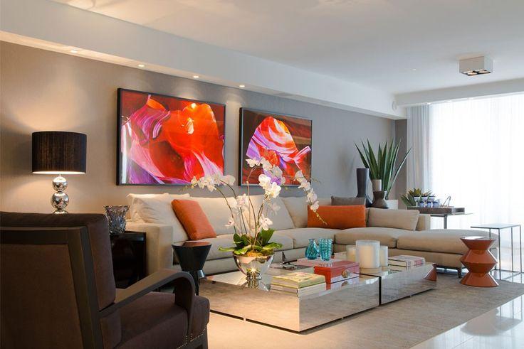 Christina Hamoui - móveis atuais com toque de antigos decorativos.