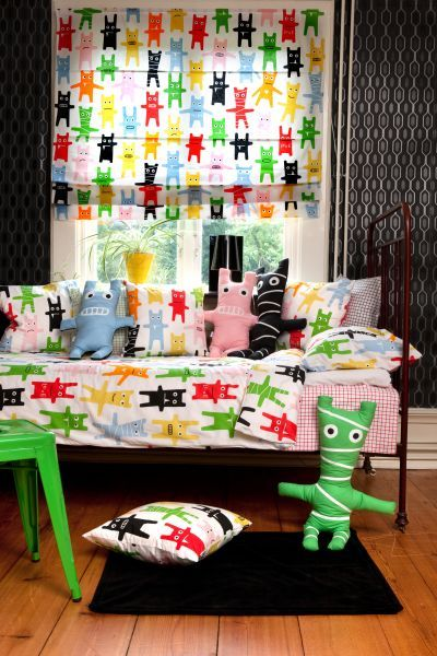 Mairo Monster collection. Designed by Karin Mannerstål.