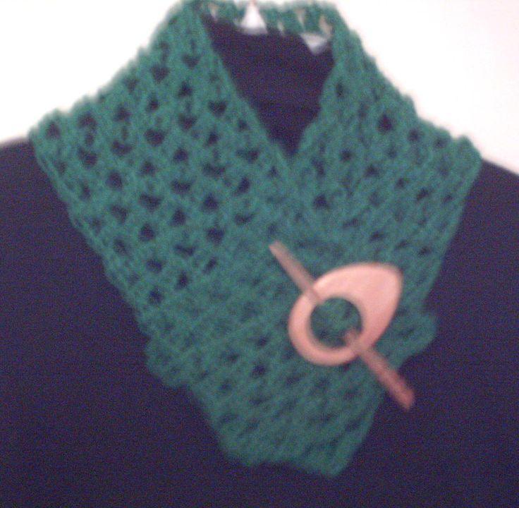 cuello verde.