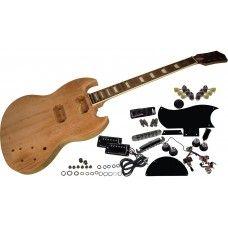 Solo Pro SG Style DIY Guitar Kit Mahogany Body Set Neck, Unfinished