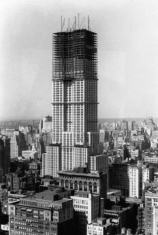 1929-1931 - Empire State Building under construction