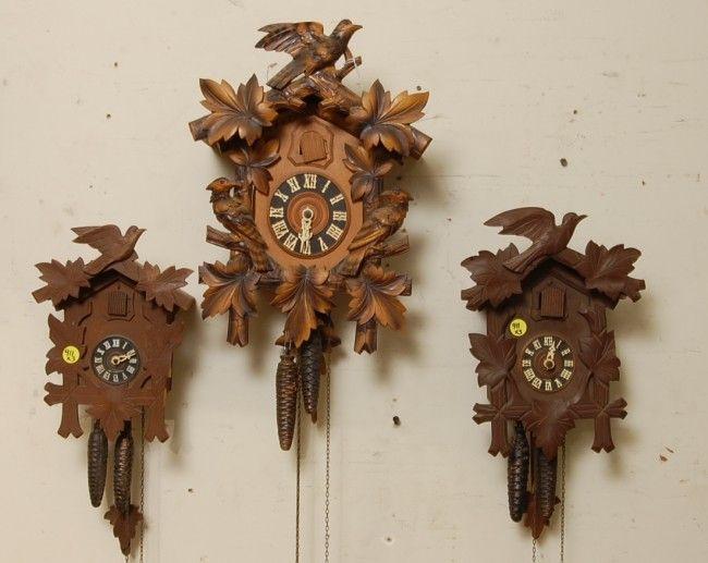 411 3 german black forest coo coo clocks