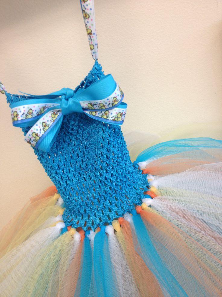 Sally Ducky TuTu Dress custom created @Binkys Boutique