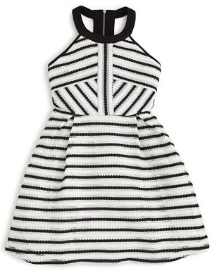 We're so ready to wear this dress this spring  https://onmogul.com/products/roll-for-zoom-larger-view-bardot-girls-vertical-limit-dress-sizes-8-16