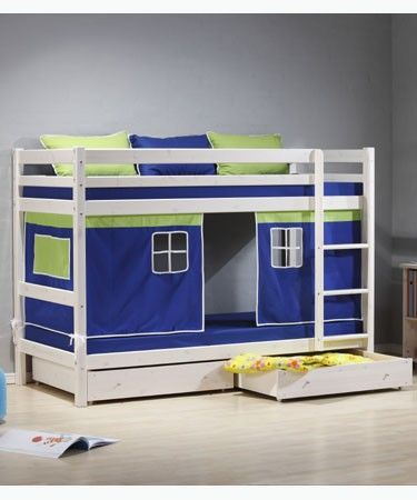 1000 Ideas About White Bunk Beds On Pinterest Triple