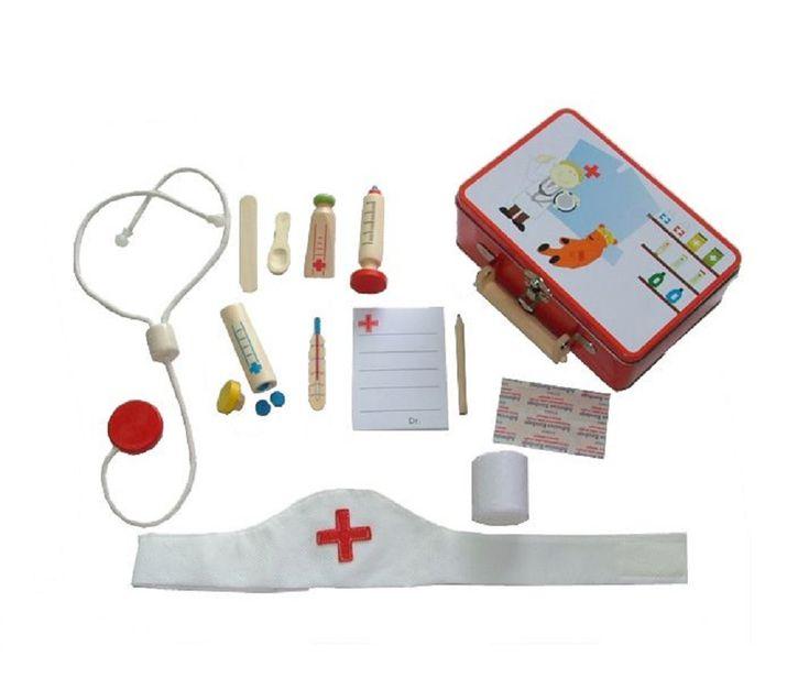Doktorkoffert med utstyr