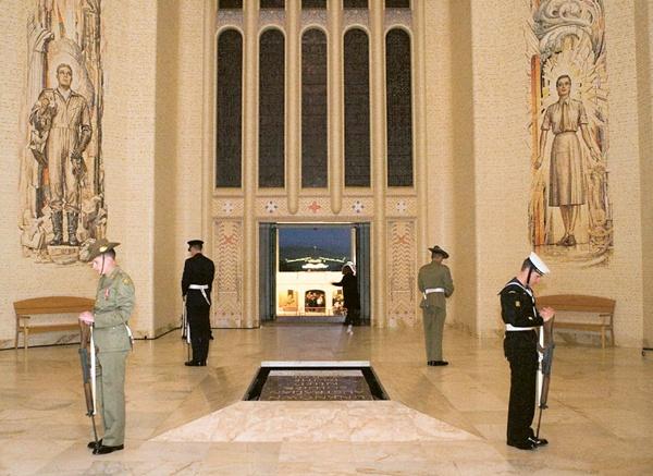 ANZAC Day dawn service - Canberra