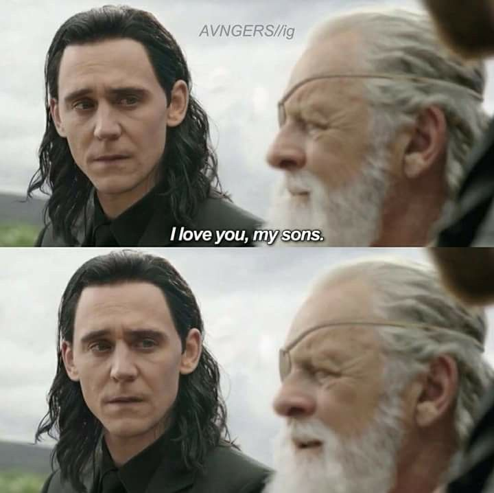 This scene is why I wish I could make my fic Ragnarok