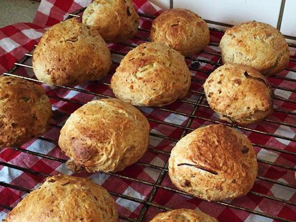 De her skønne skinkeboller er perfekte til madpakken, og både til formiddag og eftermiddags snack og