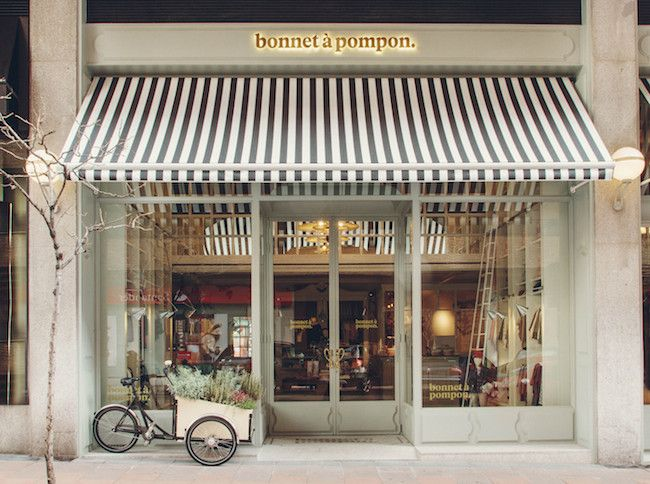Descubrimos con Germán Jiménez, la nueva flag ship store de la marca infantil Bonnet à pompon. Un lugar donde los mayores y pequeños irán juntos de shopping